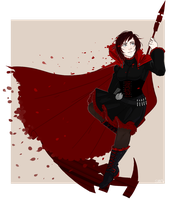 RWBY: Ruby Rose by itzSMV