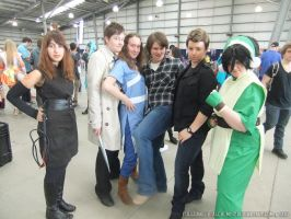 Supanova 2013 - Avatar team by fulldancer-alchemist