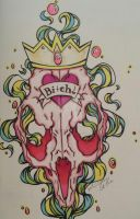 Queen bitch by AndyStarfish