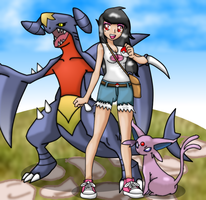 As a pokemon trainer by wazzzaap