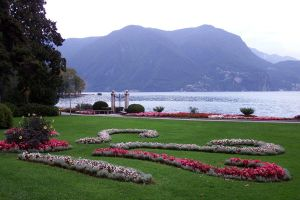 Lake and gardens - Lugano by wildplaces