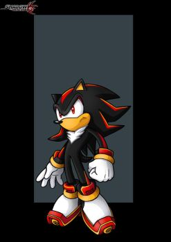 shadow the hedgehog  -  commission by nightwing1975
