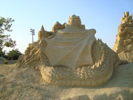 Sand art in burgas 1 by tonev