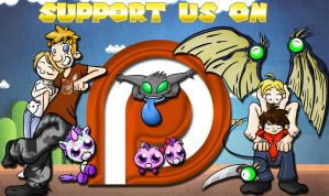 Support us on PATREON by CP-BaM-BaM