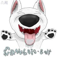 Comboio-Bolt Badge Commission by Hihey9989