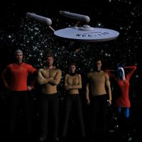 TOS Hawk Crew by Colonel-Azzameen