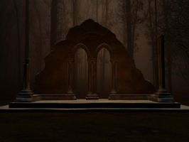 Fantasy Arches Stock by Moonchilde-Stock