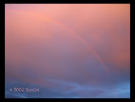 Rainbow On Cotton Candy Clouds by RooCat