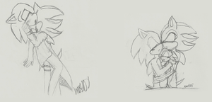 Old Sonadow doodles by bms408