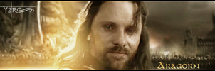 Aragorn -For Frodo Signature- by Y2Joker