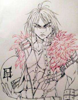 WIP: Angry Birds -red- human version by MemoryFragment