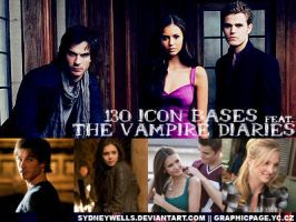 Icon bases ft. Vampire Diaries by SydneyWells