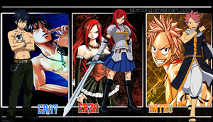 Fairy Tail Wallpaper by jabesong