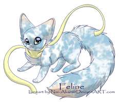 Free Scarf Kitty Adopt Closed by OMGeek-Adopts