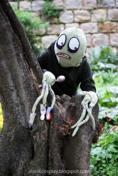 Salad Fingers costume by Shirak-cosplay