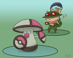 Teemo Would Like To Fight by Runxforest