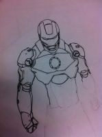 Iron man Quick sketch part 2 by dragonite838