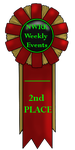 NWRK-WME - 2nd Place Ribbon. by NightCur