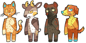 WOW POINT ADOPTABLES by P00CHYENA