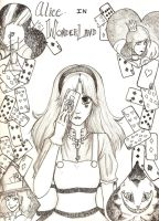 Alice in Wonderland by MESS-Anime-Artist