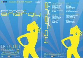 Flyer-Trance Energy by thierry-eamon