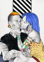 Punk Love by Pyratesque