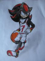 Basketball Shadow by ajison