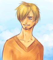Sketch - Sanji by Excel-K