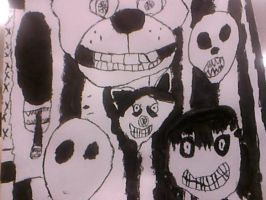 Creepypasta horror ink college by Digigex90
