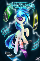 Vinyl Scratch by 1Jaz