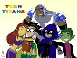 Teentitans by WaterEmi by teentitans