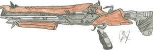 The King of the Ketch Exotic Shotgun by Chigiri16