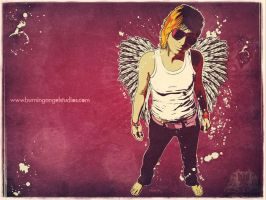 Stainless Angel Wallpaper by EvilFrogo
