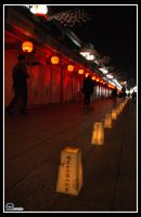 Lights of Asakusa by Floatyman