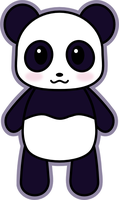 Kawaii Panda! by amis0129