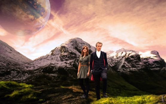 The Doctor and Clara Oswald: Distant Travelers by TimeLordGhost