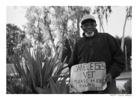 proud homeless vet by cweeks