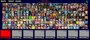 Multiverse Fighters Revolution Roster (Page 3) by SuperMaster10