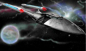 USS Agamedi Rendering by Ihlecreations