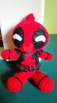 Deadpool of crochet with voice by Frikivoodoo