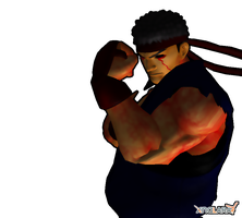 Evil Ryu Reskin by Illuminationz