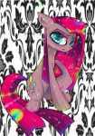 Pinkamena Wants To Be Colorful by Rigiroony