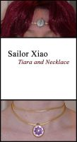 Sailor Xiao Necklace + Tiara by sakkysa