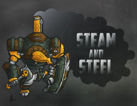Steam and Steel by Yoblicnep
