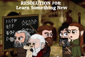 Resolution #08: Learn Something New by Kumama