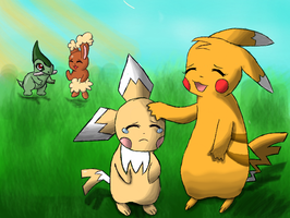 pokemon mystery dungeon by Dream15