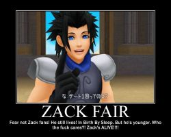 Zack Fair 2 by TheWanderingHero