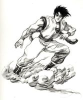 Flying Nimbus by ChaseConley