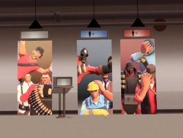 Team Fortress 2 Behind GUI by GlitchyProductions