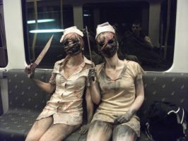 Cosplay Nurse Silent Hill by LaraValentine